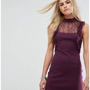 NWT Free People Plum Cocktail Dress Medium